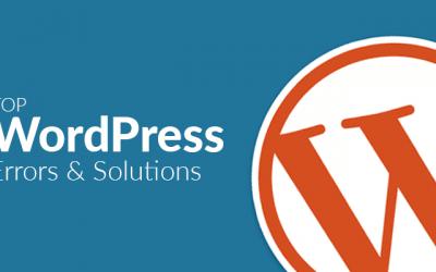 3 meest voorkomende WordPress errors